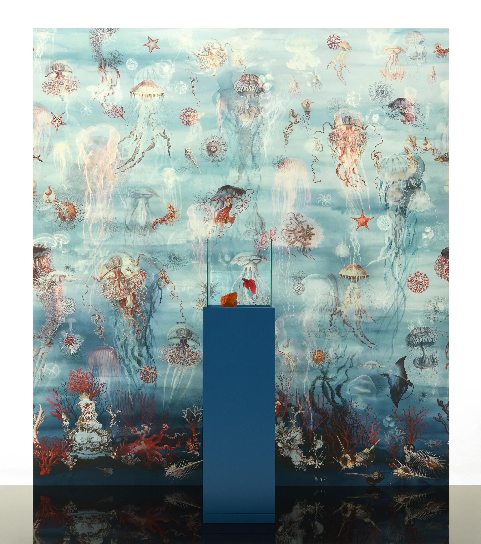 Tissu Jean Paul Gaultier lelièvre | abyssal - 3325